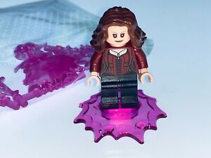 LEGO MARVEL GENUINE SCARLET WITCH AND ACCESSORIES SPLIT FROM SET 76192 - NEW