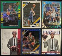 Lot of (6) Jeremy Lamb, Including Donruss /349, Optic/Hoops parallels & Rookies