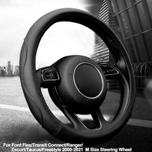 Car Steering Wheel Cover For Ford Flex Transit Connect Ranger 2000-2021 Escort