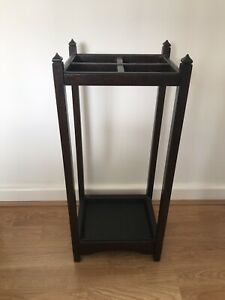 Vintage Wooden Umbrella Stand