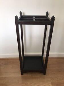 Vintage Wooden Umbrella Stand