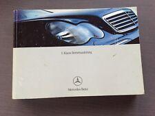 Mercedes W203 S203 vor MOPF C Klasse Betriebsanleitung Anleitung