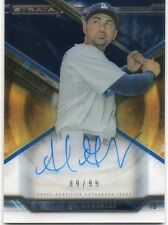 ADRIAN GONZALEZ 2015 TOPPS STRATA AUTOGRAPHED ON CARD BASEBALL CARD 89/99