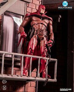 McFarlane Toys - DC Multiverse Batman White Knight  Batman RED VARIANT EXCLUSIVE