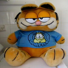 HUGE Vintage Garfield XX Large Plush TOY 1981 Feature Syndicate Dakin RARE