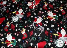NEW ~ Christmas Print Scrub Top ~ 5X ~ Rockin Santa