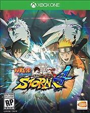 Naruto Shippuden Ultimate Ninja Ninja Storm 4 Xbox One Brand New Sealed