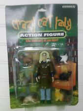NIB Accoutrements Crazy Cat Lady Action Figure, 6 Cats Included, Toy, Brand New