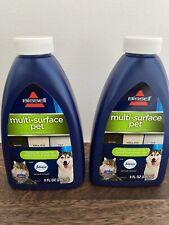 Lot 2 Bissell Multi-Surface Pet Floor Cleaner Formula 8oz Ea