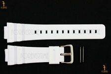 16mm per Casio DW-6900 G-Shock GOMMA Bianca Orologio con Cinturino Dw-6600 W/ 2