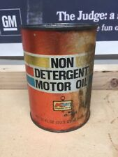 Kmart Motor Oil  One Quart Can For 1963 And Older Vehicles