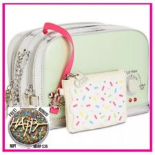 Betsey Johnson KITSCH A TOAST TO YOU Crossbody BAG TOASTER Pop Tart FREE Mirror!
