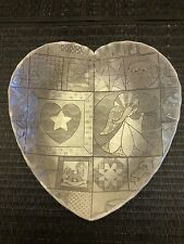 New listing Wendell August Forge Heart Shaped Aluminum Bowl Dish