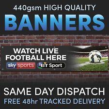 Sky Sports BT Sport LIVE FOOTBALL Vinyl Banner - Advertising Pubs / Bars Social