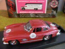 1/43 Bang 1011 Mercedes 300 SL Mille Miglia 89 rotmetallic