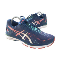 Asics Gel Kayano 23 Womens Size 10.5 Blue Athletic Trail Running Shoes Sneakers