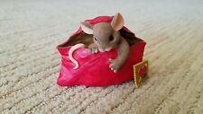 """Fitz & Floyd Charming Tails """"I'm Sending You My Love"""" Collectible #84/129"""
