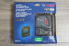 Bosch Professional GPL 3 S 3-Point Self-Leveling Alignment Laser