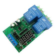 30A 12V DC/AC Motor Forward & Reverse Controller 0.1-999.9S Delay Relay Module