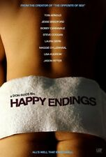 HAPPY ENDINGS MOVIE POSTER 2 Sided ORIGINAL Advance GUY 27x40