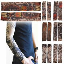 Fake Temporary Joke Tattoo Sleeves Arm Stockings Tatoo For Men Women Adults Cool