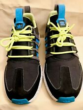 Adidas SL Loop Runner TR 'Black Sol Blue Lime' Size 7 Youth/Men 2016