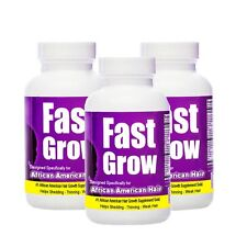FAST GROW - 3 Months  Fast  Hair Growth Vitamins Made for African American Women