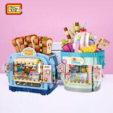 Bau Street View Haus LOZ1745-6 Bäckerei Getränkeshop Modell Spielzeug OVP