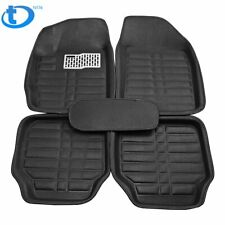 5pc Universal Auto Mat Car Floor Mats Front & Rear Liner Waterproof All Weather
