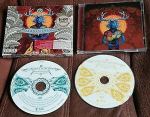 MASTODON BLOOD MOUNTAIN   2006 CD + DVD HEAVY / PROG METAL