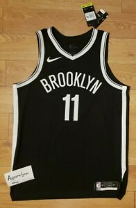 2020-21 Nike Authentic Kyrie Irving Brooklyn Nets Icon Vaporknit Jersey Size 48