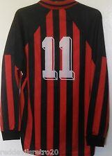 Austria Club (Match Worn No.11) Long Sleeved Umbro Football Shirt (Adult Large)