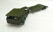 Russian Soviet original diecast military metal toy Vehicle tractor