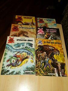 Lot of 6 French Comic Books - Tony Stark Volumes 1 - 6 E. Aidans Western Theme