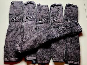 2020 Iowa Hawkeyes Game Used Nike Football Gray Towel - Hand Waist Hip