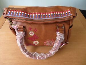 Desigual woman handbag CHANDY LOVERTY Brown
