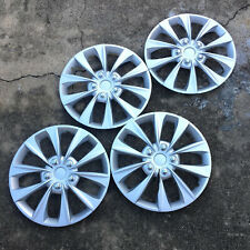 "Full 4 Pc Set Hub Cap Abs Silver 16"" Inch Rim Wheel Skin Cover Caps Covers (Fits: Hyundai Elantra)"