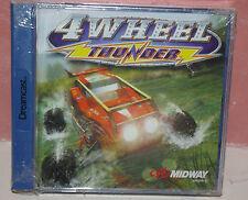4WHEEL THUNDER   - DREAMCAST  DC  - Nuevo, precintado, caja rota -