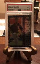 MICHAEL JORDAN PSA 9 1994 Upper Deck Michael Jordan #19 Baseball Card