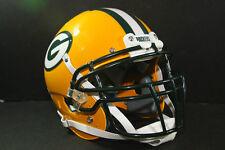Custom Schutt XP Pro GREEN BAY PACKERS Game Style Football Helmet A J HAWK