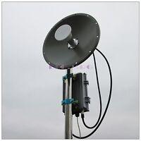long range 5G wireless network 10 Miles PtP outdoor AP 300M 802.11A/N 2*N 2*RJ45
