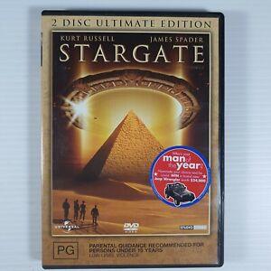 Stargate The Movie DVD Region 4 Sci-fi Kurt Russell James Spader