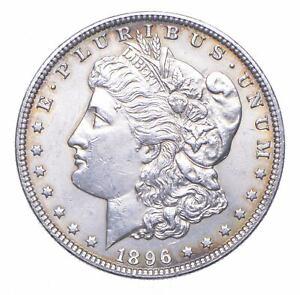 Early - 1896 Morgan Silver Dollar - 90% US Coin *317