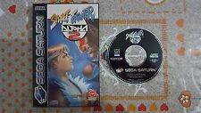 SEGA Saturn Street Fighter Alpha 2 PAL Juego Game SS