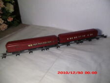 American Flyer Tuscan 953 Afl Combination Car With Silhouettes & 652 Pullman