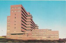Veteran's Hospital at State University Campus in Iowa City IA Postcard