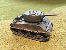 "1/100th (15mm) WWII US Painted M4A3E2 ""Jumbo"" 75mm-Gunned Tank Model"