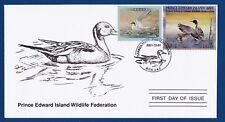 Canada (PEI07) 2001 Prince Edward Island Wildlife Federation Stamp FDC