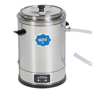 Milky Pasteurisierer Eco Mini FJ15 | Pasteurisator Joghurt Käse15 Liter bis 99°C