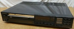 Mid 80's Sony CDP-302ES Audiophile CD Player Serviced New belts GWO